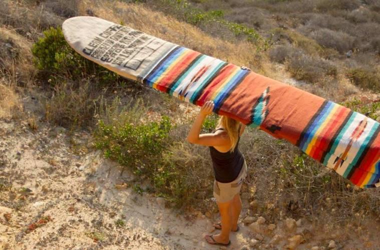 housse de surf eco responsable