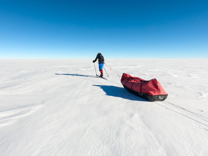 Matthieu Tordeur raconte son rêve éveillé sur le continent blanc
