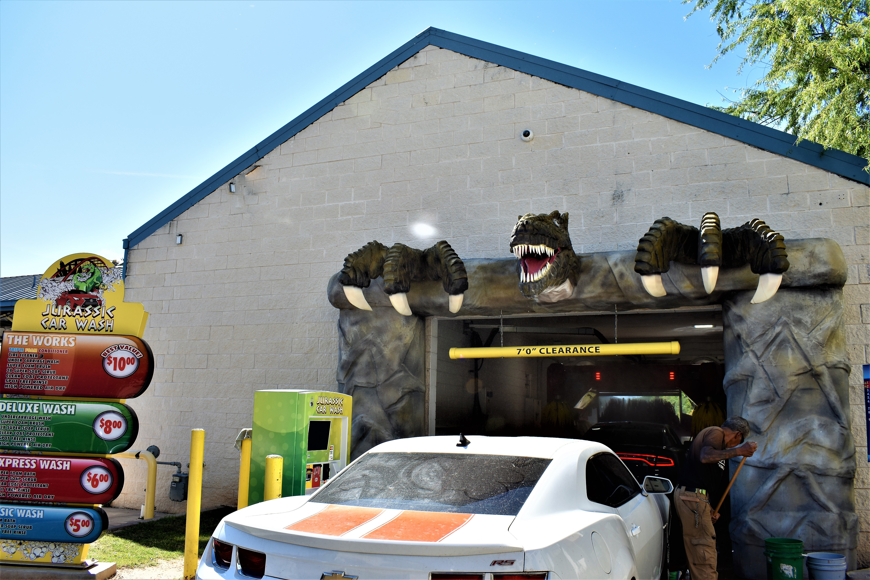 Jurassic Car Wash in Austin