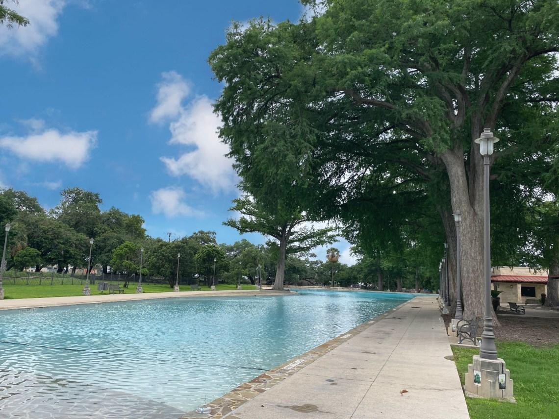 San Pedro Springs Swimming Pool in San Antonio Texas