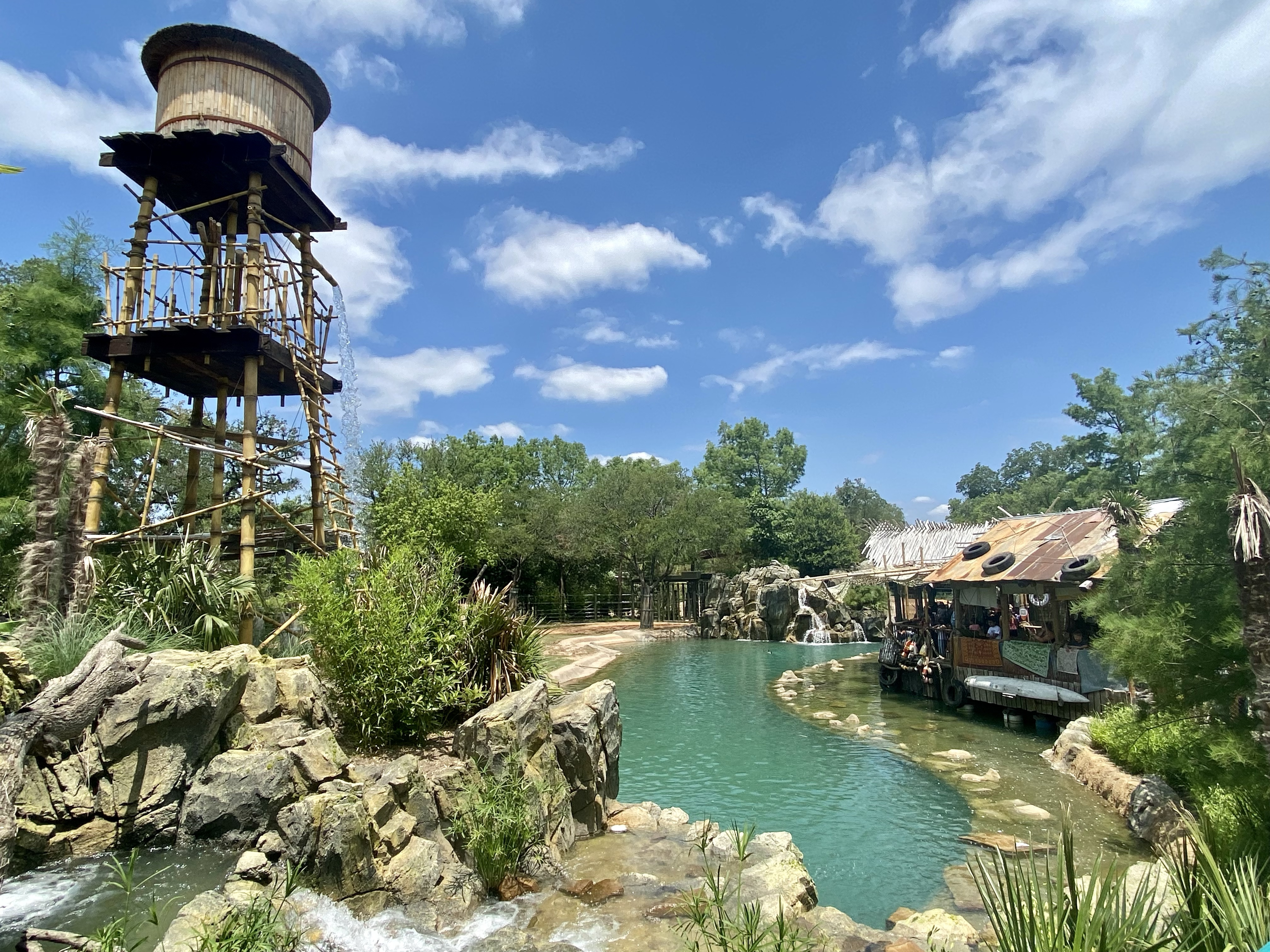 Elephant Springs at the Fort Worth Zoo