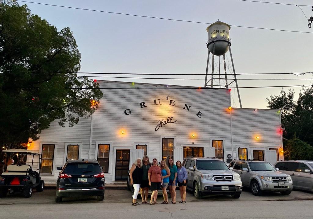 Gruene Hall the oldest dance hall in Texas