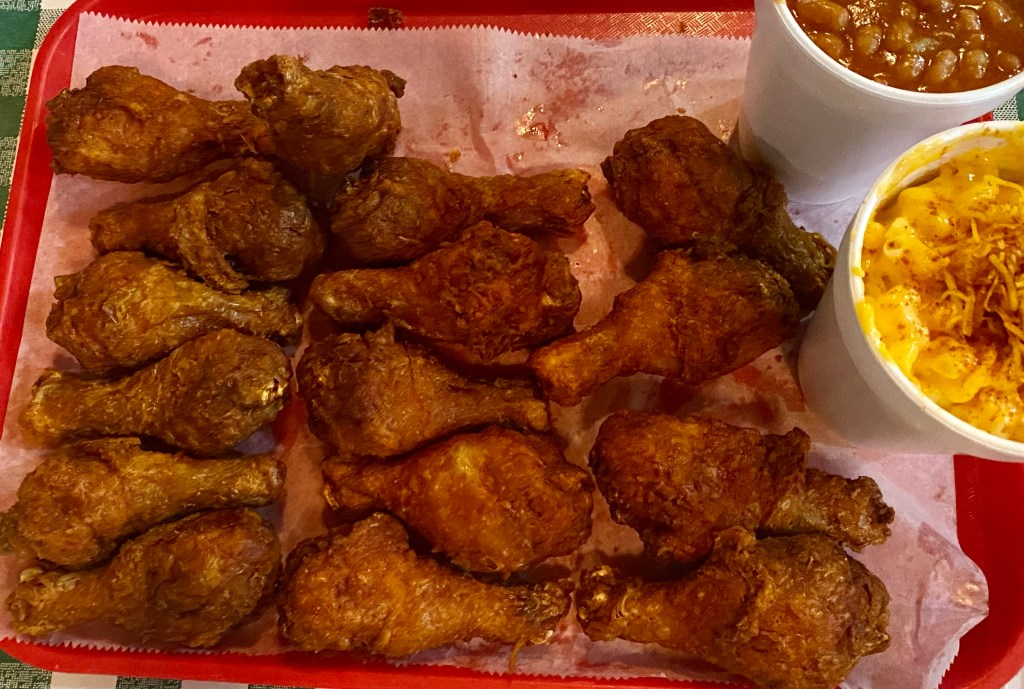 Gus's Famous Fried Chicken in Memphis Tennessee