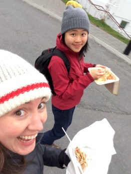 Crepes on the run!