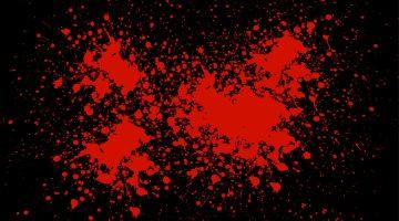 Men of God, a Splash of Red