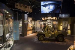 inside infantry museum