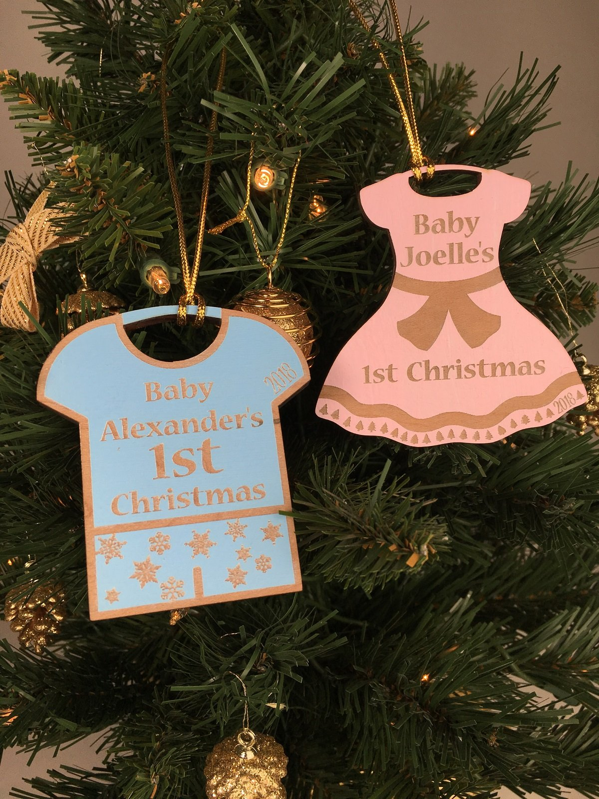 Babys First Christmas Decorations