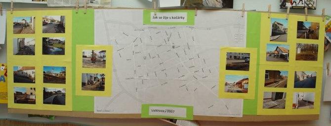 mapka a fotky problematických míst