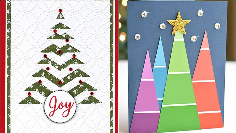 Top 50 Best Christmas Card Ideas Kids Can Make Diy Christmas Card Ideas