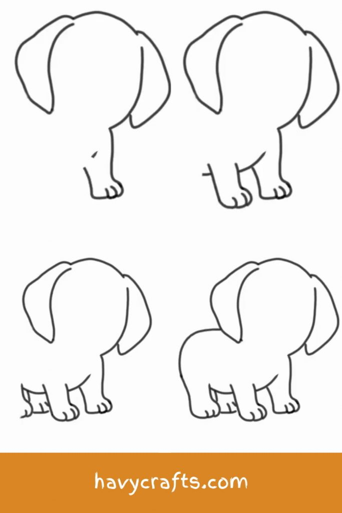 Dog Legs Drawing : drawing, Little, Puppy, Makes