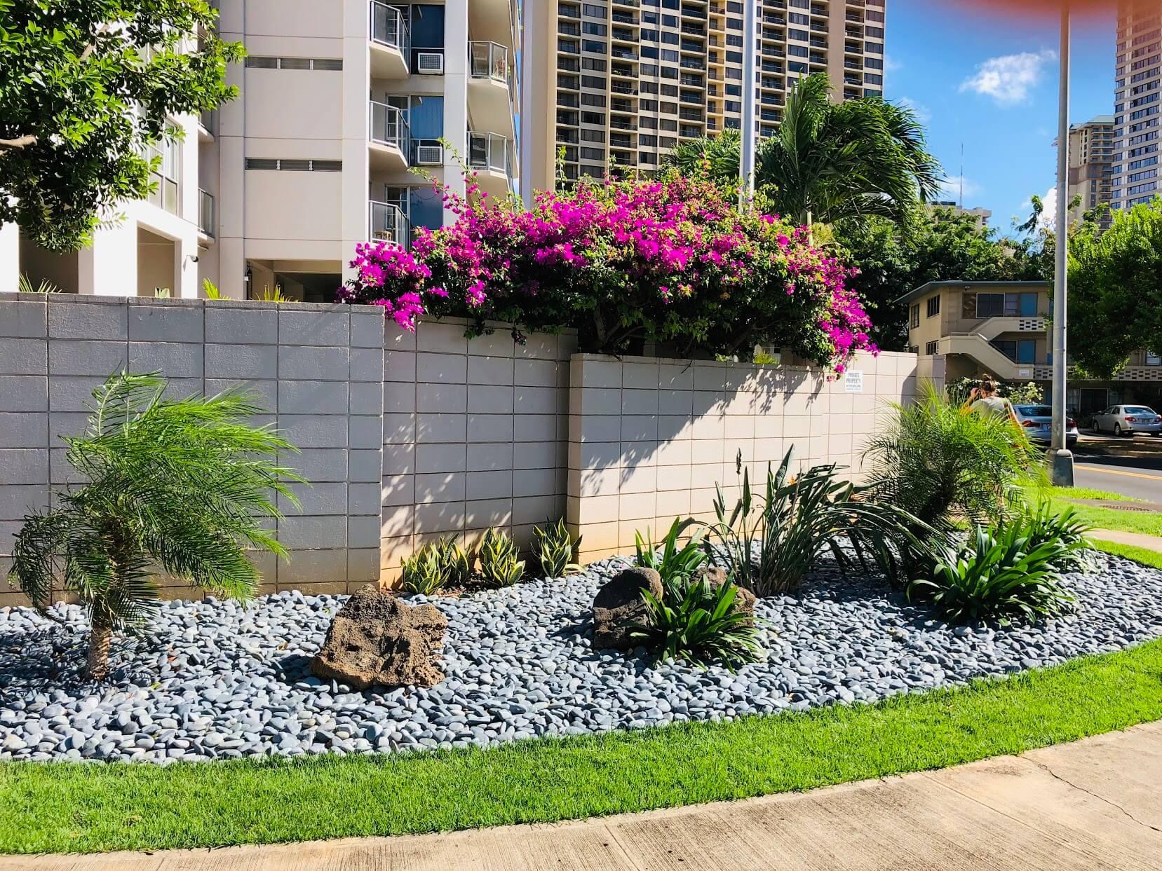 Marina Towersの植物