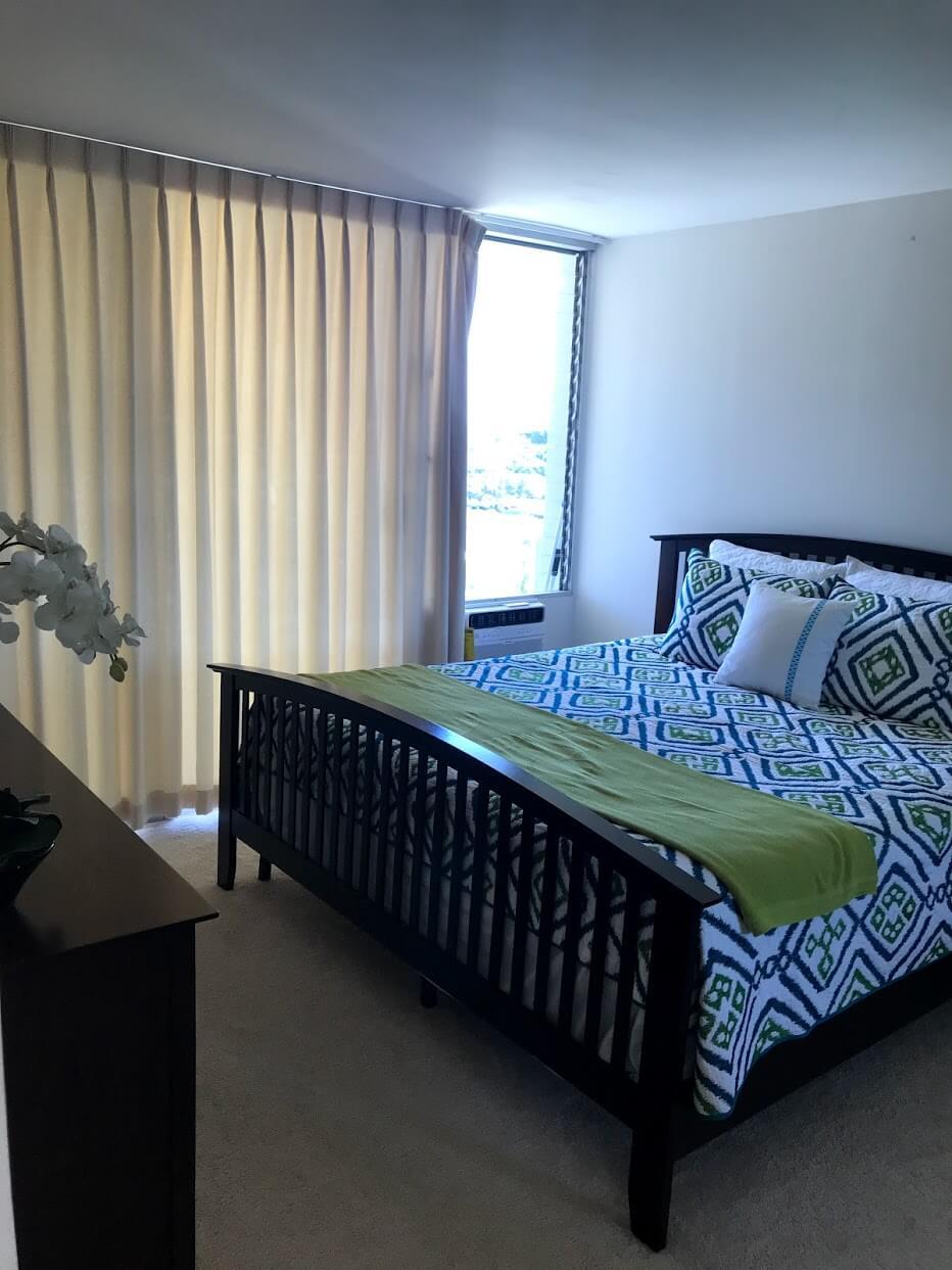 Diamond Head Vistaのベッドルーム
