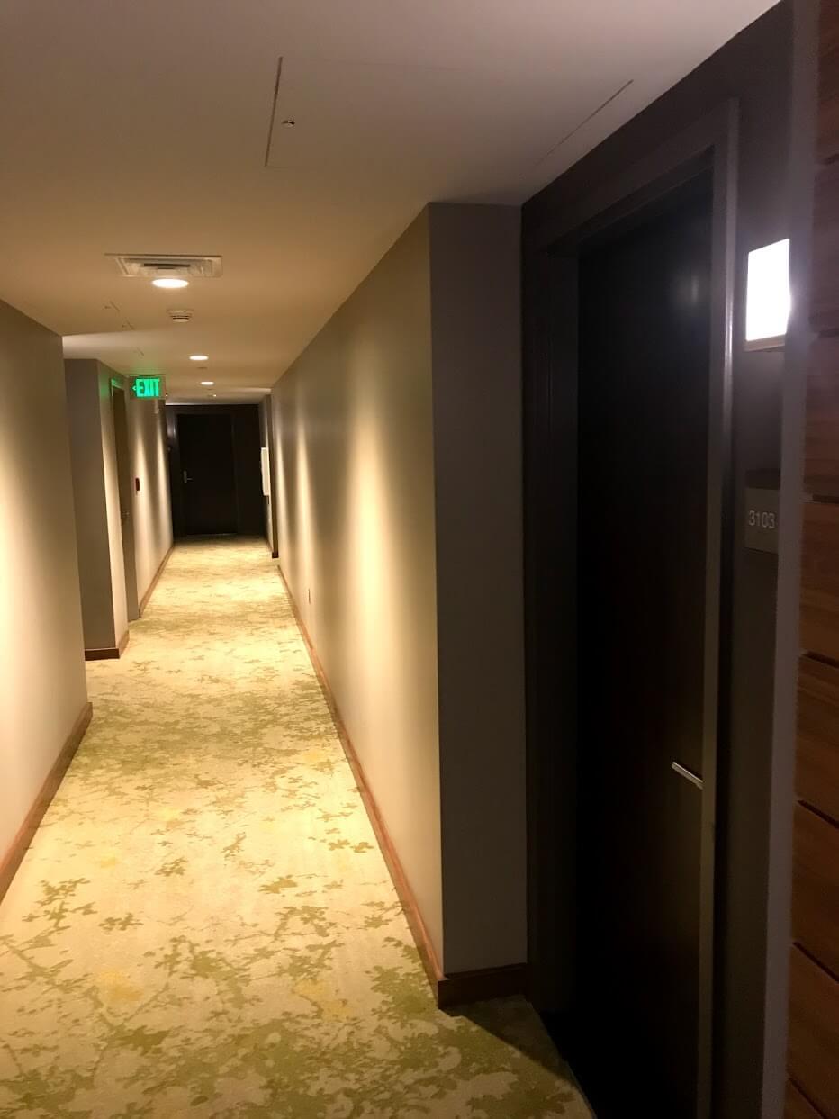 Waihonuaの廊下