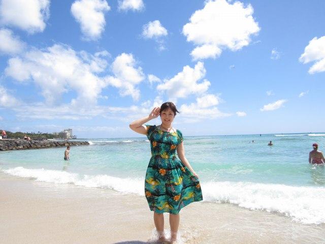 ハワイの美女70
