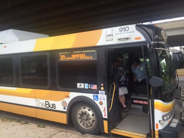 ザバスでワイキキに行く方法