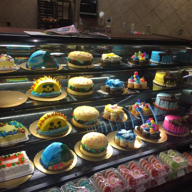 セーフウェイのケーキ