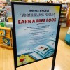 夏休みだよ。本読んで無料で本をゲットしよう!!「バーンズアンドノーブルの夏の読書プログラム」
