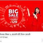 AirAsiaでなんとホノルル->関空が129ドルです。今がチャンス。