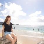 「ハワイ美女ウェンズデー」カリヒにホームステイでハワイ留学、そしてまたハワイへ。