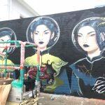 カカアコで新しウォールアートが次々に登場中です。一度行ったあなたもまた行きたくなる。