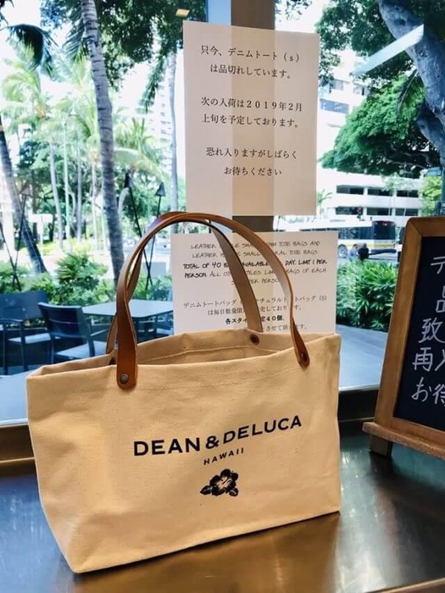 DEAN&DELUCAのトートバッグ