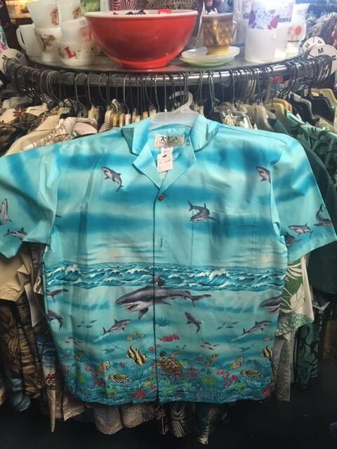 ハワイで嵐が買ったアロハシャツ