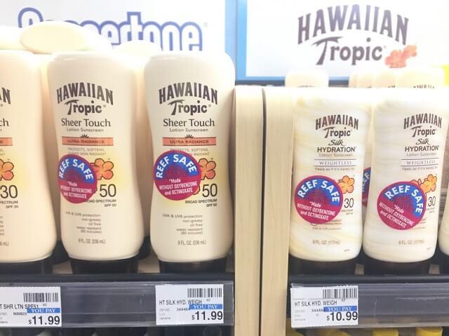 全米初、ハワイ州でサンゴ礁に有害な日焼け止めの販売禁止。2021/1/1から