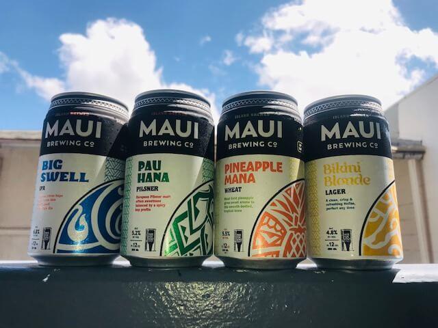 マウイブリューイングのビール。ハワイアン航空で飲みたいビールは?