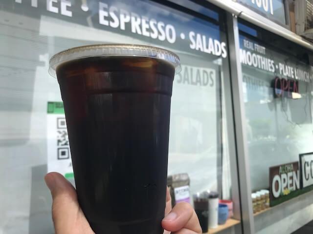 カカアコでの美味しいコールドブリュー「アロハベイクハウス&カフェ」