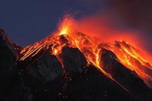 Aktiver Vulkan Hawaii