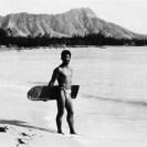 Historischer Surfer