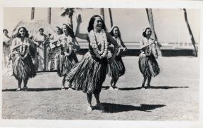 Hula tanzen