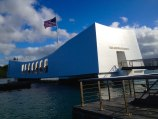 Das USS Arizona Nationaldenkmal in Pearl Harbor