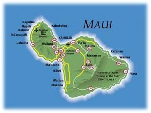 Die Geschichte von Maui