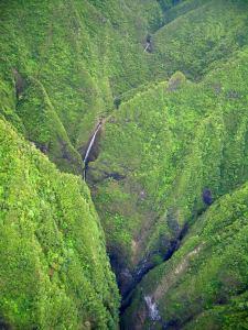 Sacred Wasserfall Oahu