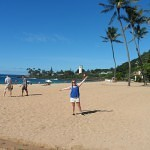 Waimea Bucht Oahu Hawaii