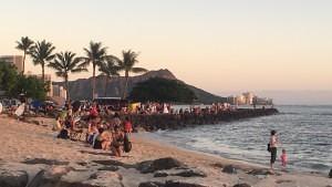 Waikiki Strand - Hawaii Urlaub in Waikiki