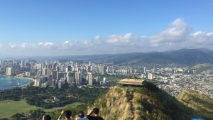 Diamond Head Krater Aussicht Waikiki