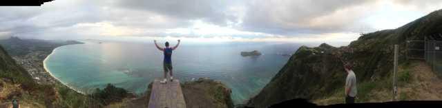 Dead Mans Catwalk Kamehame Ridge Wanderung