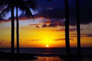 Sonnenaufgang Hawaii