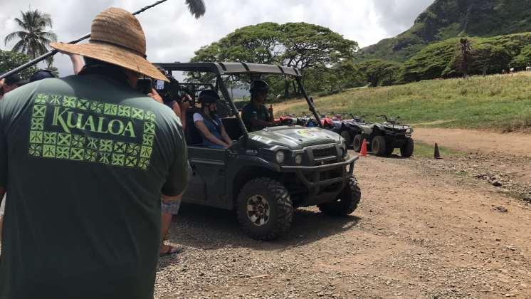 Kualoa Ranch Jurassic Park Hawaii