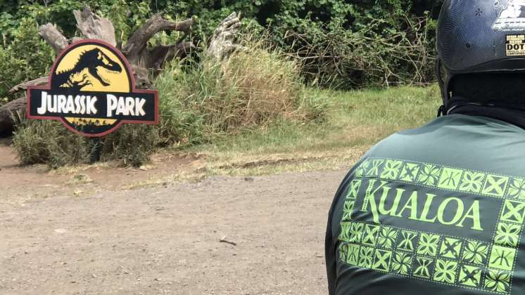 Jurassic Park Tour Kualoa Ranch Hawaii