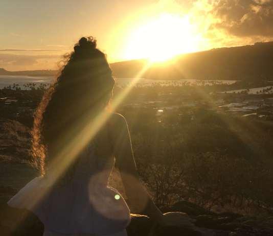 Sonnenuntergang in Hawaii in Hawaii Kai