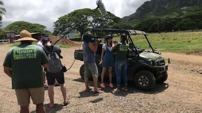 Jurassic Park Tour Hawaii mit Betty Taube & DanielsHawaii