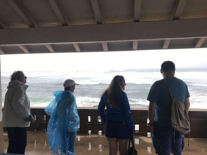Regentag in Hawaii