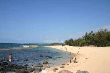 Der Kinderfreundliche Strand North Shore Maui