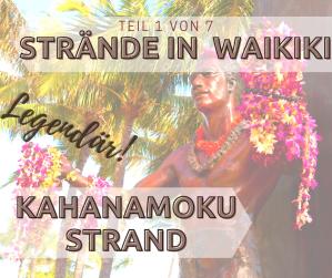 Kahanamoku Strand in Waikiki