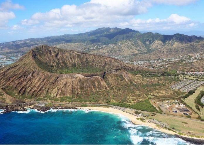 Koko Krater in Hawaii