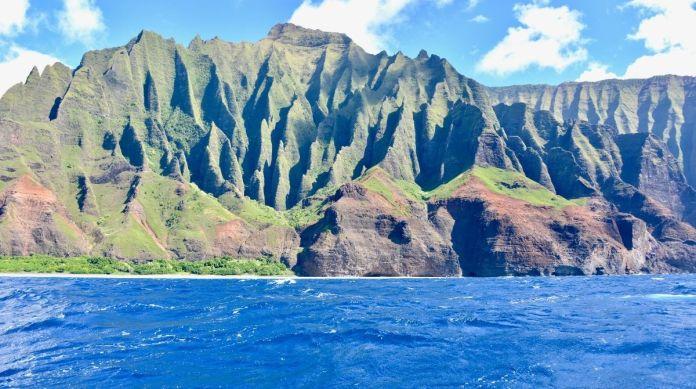 Das Schöne an der Nordküste von Kauai