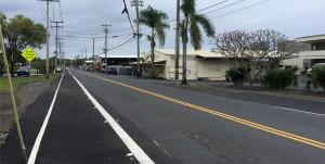 Kalanikoa Street in Hilo fronting Edith Kanakaole Multi-Purpose Stadium. Hawaii 24/7 File Photo